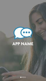 #12 untuk Design an App Mockup for chat app oleh ankisethiya