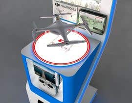 #15 cho Design a Stand or Kiosk to show a Drone in a store bởi shobhit98sl