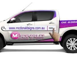 #42 cho Design our vehicle signage bởi pandi13