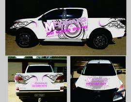 #11 cho Design our vehicle signage bởi Bugz318