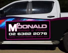 #7 cho Design our vehicle signage bởi niko340