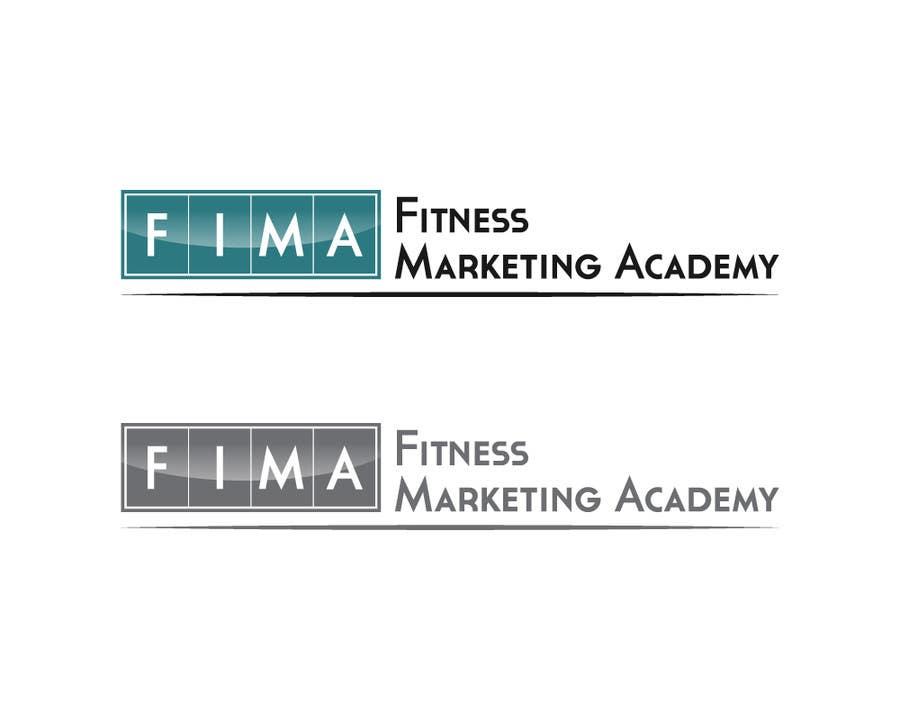 Penyertaan Peraduan #16 untuk Design a Logo for FIMA (Fitness Marketing Academy)