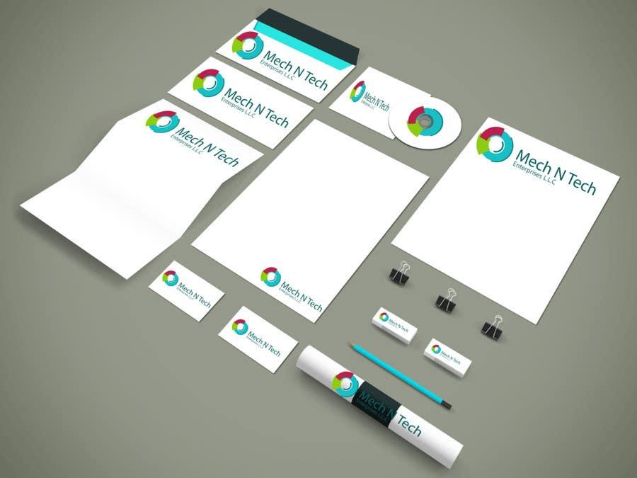 Kilpailutyö #11 kilpailussa Design a Logo for a company Mech N Tech Enterprises L.L.C