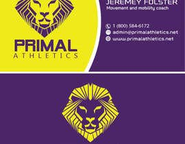 #35 untuk Design a business card with my logo and colours oleh Debabrata09