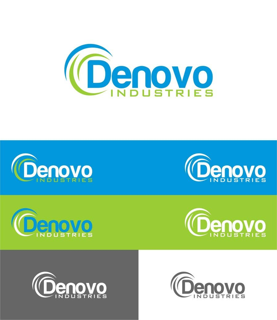 #49 for Develop a Corporate Identity for Denovo Industries by trying2w