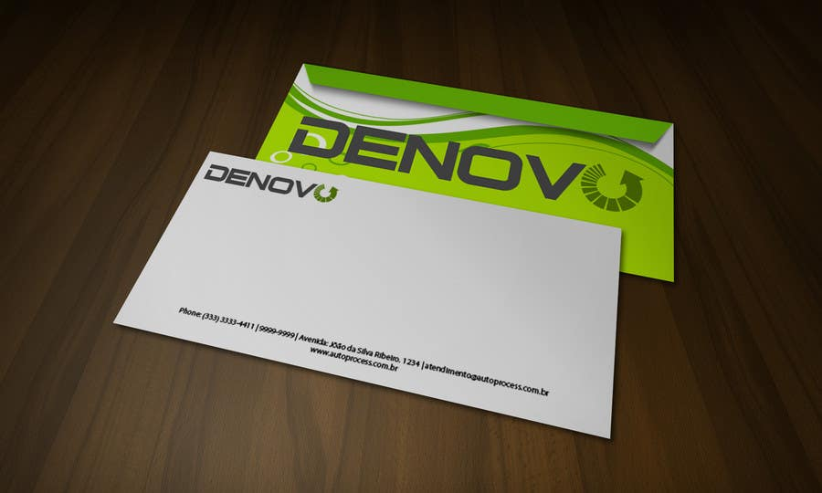 #57 for Develop a Corporate Identity for Denovo Industries by rogeriolmarcos