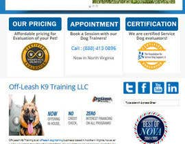 macroworth tarafından Build a Website for Service Dog Training Website için no 25
