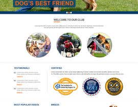 xsasdesign tarafından Build a Website for Service Dog Training Website için no 9