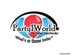 nº 10 pour Party1World needs a CORPORATE Identity LOGO. par sandanimendis