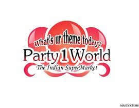 nº 21 pour Party1World needs a CORPORATE Identity LOGO. par sandanimendis