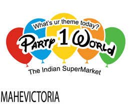 nº 17 pour Party1World needs a CORPORATE Identity LOGO. par Ekaterina5
