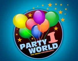 nº 15 pour Party1World needs a CORPORATE Identity LOGO. par GraphXFeature