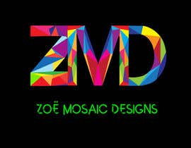 #30 cho Design a Logo for ZMD Zoe Mosaic Designs LLC bởi medokhaled