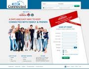 Graphic Design Natečajni vnos #56 za Graphic Design for Social Network Website sign up page
