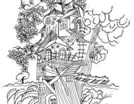 #8 for A Coloring Book of Tree Houses af Rahulbajad