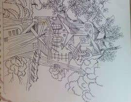 #14 for A Coloring Book of Tree Houses af Rahulbajad