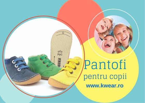 Bài tham dự cuộc thi #6 cho Realizează un design de pliant for Children shoes Webstore