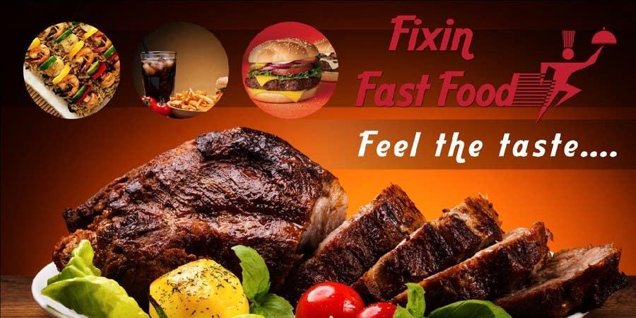Konkurrenceindlæg #35 for Design a Logo and Menu for Fixin Fast Food