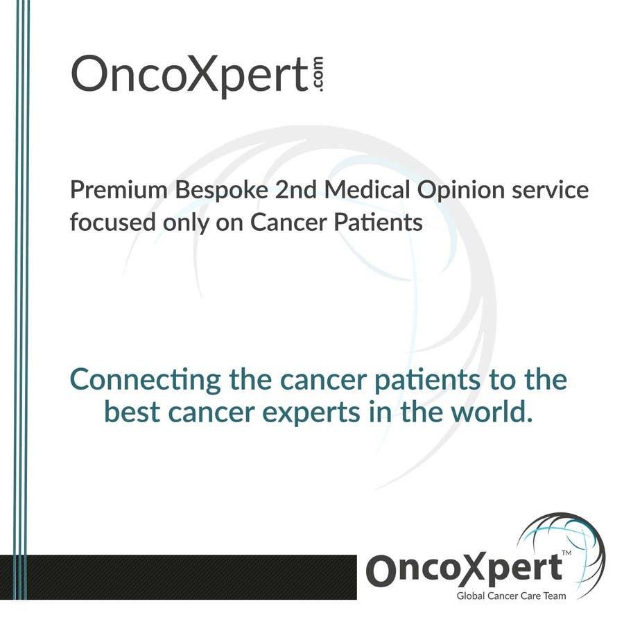 Kilpailutyö #19 kilpailussa Design a Logo for OncoXpert.com - International Cancer Second Opinion Service