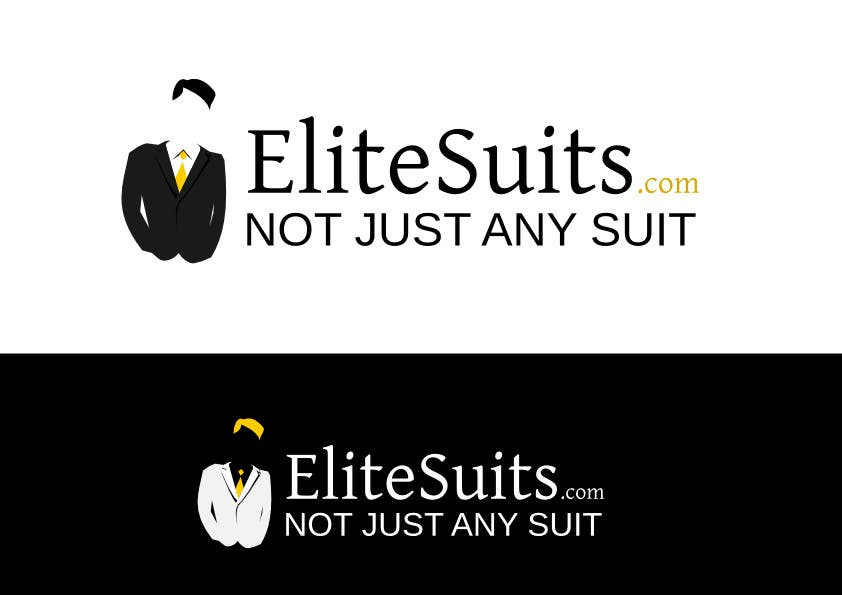 #142 for Design a Logo for an online suit store by dpetr