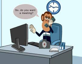 sagar007chauhan tarafından Create an Animation for a monkey booking a meeting için no 10