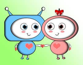 #35 untuk I need a cute cartoon, illustrated, character in 2d oleh tkarlington