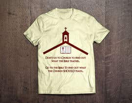#1 para T-shirt design   9x12.75 Bible/Church por mop3ddd
