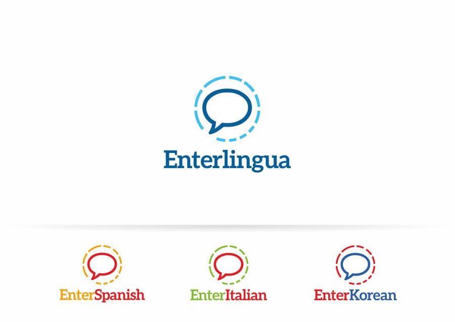 Penyertaan Peraduan #10 untuk Design a Logo for a language website