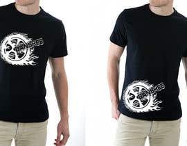 #17 para Motocross T-shirt por taulant12