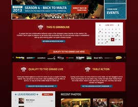 #21 untuk Graphical design for live poker tournament site based on Wordpress theme oleh thaihiep