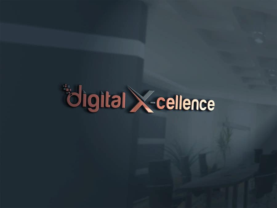 Kilpailutyö #7 kilpailussa Design a Logo for Digital-X-Cellence marketing agency