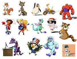Nro 8 kilpailuun Draw cartoon set   40 pics käyttäjältä zuart
