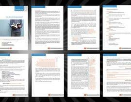 Nro 15 kilpailuun Design a 5 page PDF käyttäjältä Decomex
