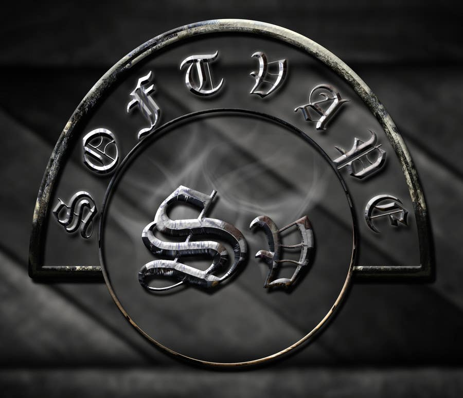 Penyertaan Peraduan #31 untuk Change Logo to Chrome hearts style with steam.