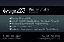 Graphic Design Kilpailutyö #24 kilpailuun Business Cards for marketing agency