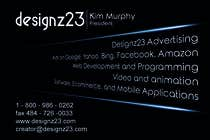 Graphic Design Kilpailutyö #32 kilpailuun Business Cards for marketing agency