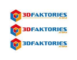 Nro 342 kilpailuun Design a Logo for 3Dfaktories.com käyttäjältä HimawanMaxDesign