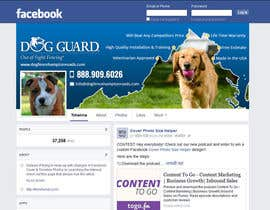 #27 untuk Design a Facebook Cover Graphic for Dog Business oleh massoftware