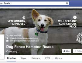 #16 untuk Design a Facebook Cover Graphic for Dog Business oleh macsDone