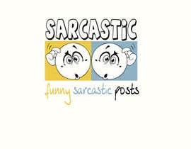 #2 for Design Sarcastic logo af zelimirtrujic