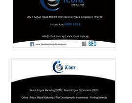 #5 for Design some Business Cards for iConz Pte Ltd af alidicera