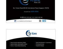 #6 for Design some Business Cards for iConz Pte Ltd af alidicera