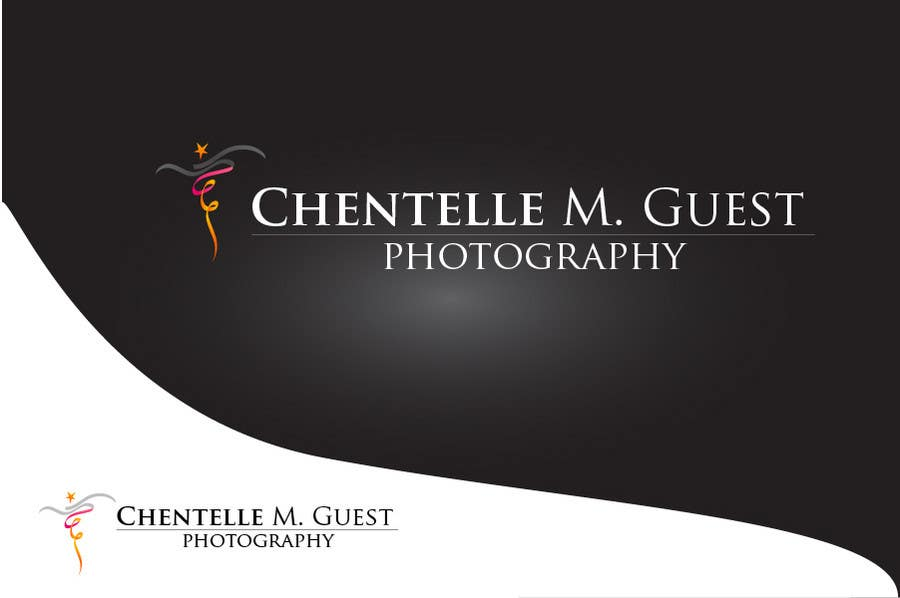 Kilpailutyö #141 kilpailussa Graphic Design for Chentelle M. Guest Photography