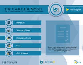 #15 for Menu design for elearning programs by starikma