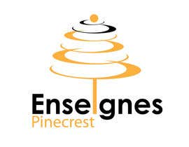 #193 for Logo Enseignes Pinecrest by saledj2010