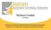 Graphic Design Contest Entry #222 for Logo Enseignes Pinecrest