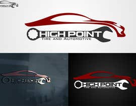 #68 untuk High Point Tire and Automotive Logo oleh mille84