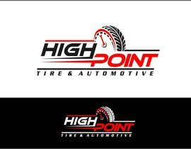 arteq04 tarafından High Point Tire and Automotive Logo için no 57