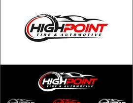 arteq04 tarafından High Point Tire and Automotive Logo için no 65