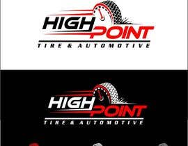 arteq04 tarafından High Point Tire and Automotive Logo için no 82